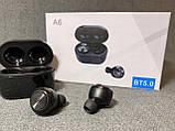 Бездротові навушники А6, фото 4