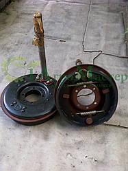 Тормоз колеса + кулак + барабан (к-т) 2ПТС-4