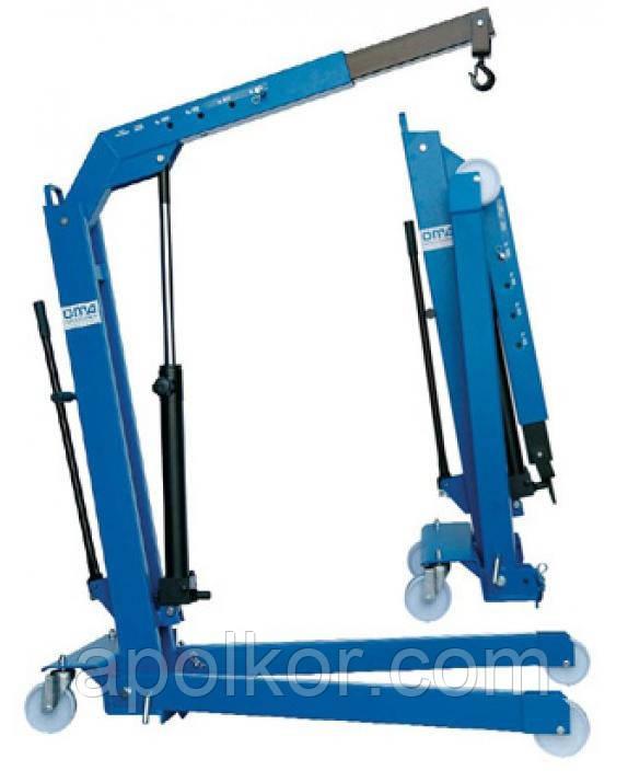 Кран гидравлический 500 кг складной OМА 586