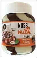 Шоколадна паста nuss milk krem kakaowo-orzechowy 400г (Польша)