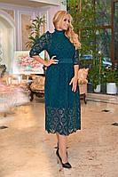 ЖІноче батальне шикарне плаття ,3 кольори. Р-ри  50-56, фото 1