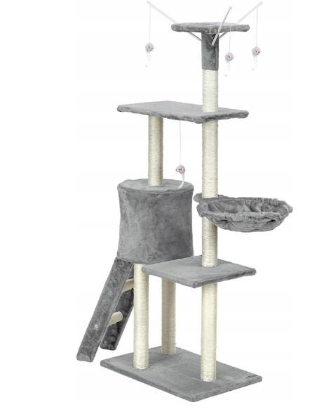 Когтеточка, будиночок для кішок 135 см