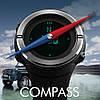 Cпортивные часы Skmei 1294 Compass с компасом водонепроницаемые, фото 3