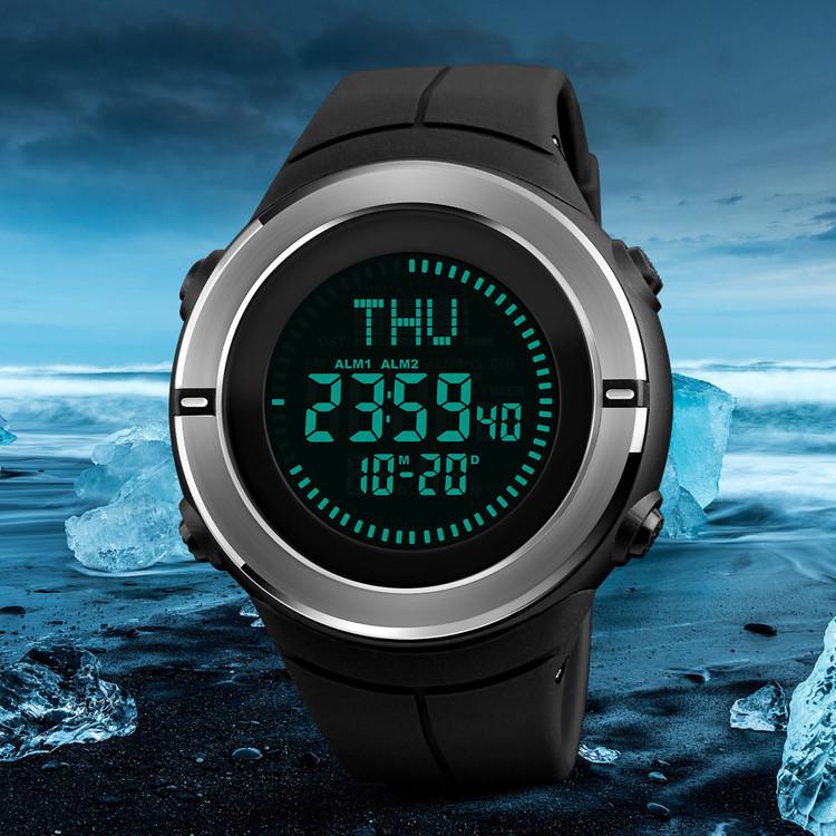 Cпортивные часы Skmei 1294 Compass с компасом водонепроницаемые