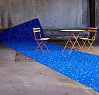 Ковролін флокіроване покриття Flotex vision pattern 944 Van Gogh Terrace at night, фото 3