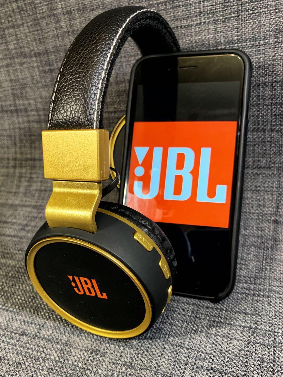 Наушники JBL беспроводные Bluetooth \ micro SD \ FM