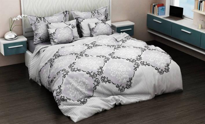 Постельное белье Фиттес бязь ТМ Комфорт-текстиль Семейный, фото 2