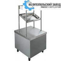 Прилавок  для столовых приборов 600х700х850 (1450)