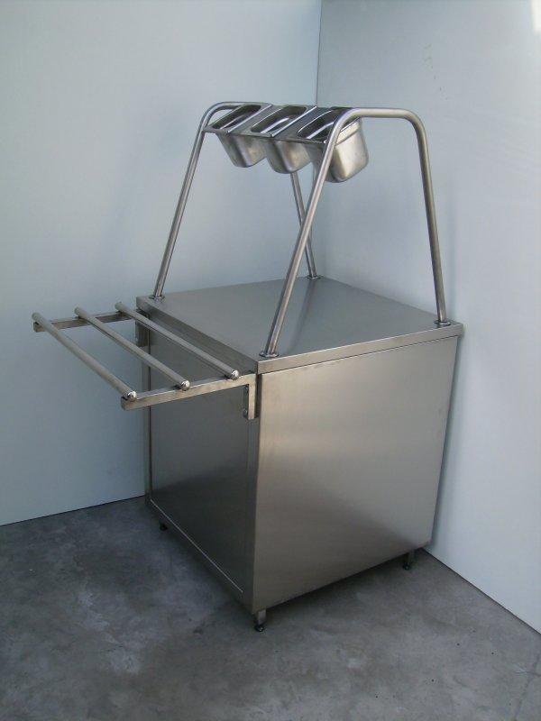 Прилавок для столових приладів 600х700х850 (1450)