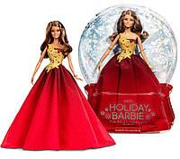 Колекційна лялька Барбі Святкова в червоному платті Barbie Holiday Red Gown 2016 DRD25, фото 1