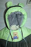 Комбинезон трансформер детский зимний со съемной овчиной цвета в ассортименте, фото 3