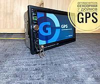 """Автомагнитола с GPS навигатором сенсорным экраном 7"""" дюймов, фото 1"""