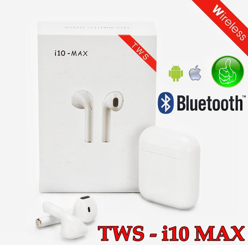 Навушники безпровідні Айфон AirPods i10-MAX
