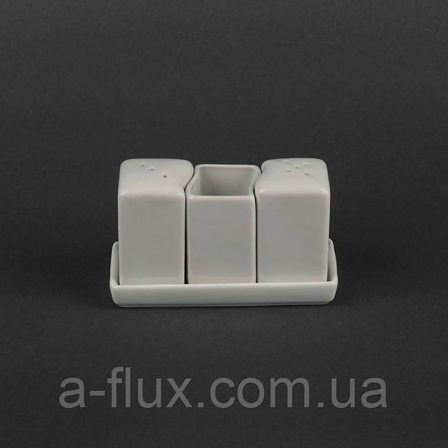 Набор для специй из 3-х предметов на подставке Китай HR1571