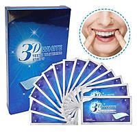 Гелевые полоски для отбеливания зубов 3D White New