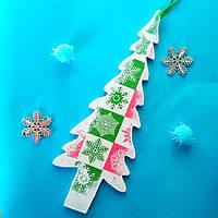 Новогодняя  игрушка на елку ручной работы. Новогодние украшения.