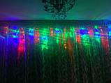 Гирлянда Бахрома тёплый холодный синий мульти, фото 10