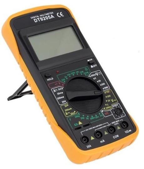 Мультиметр цифровий професійний DT-9205A