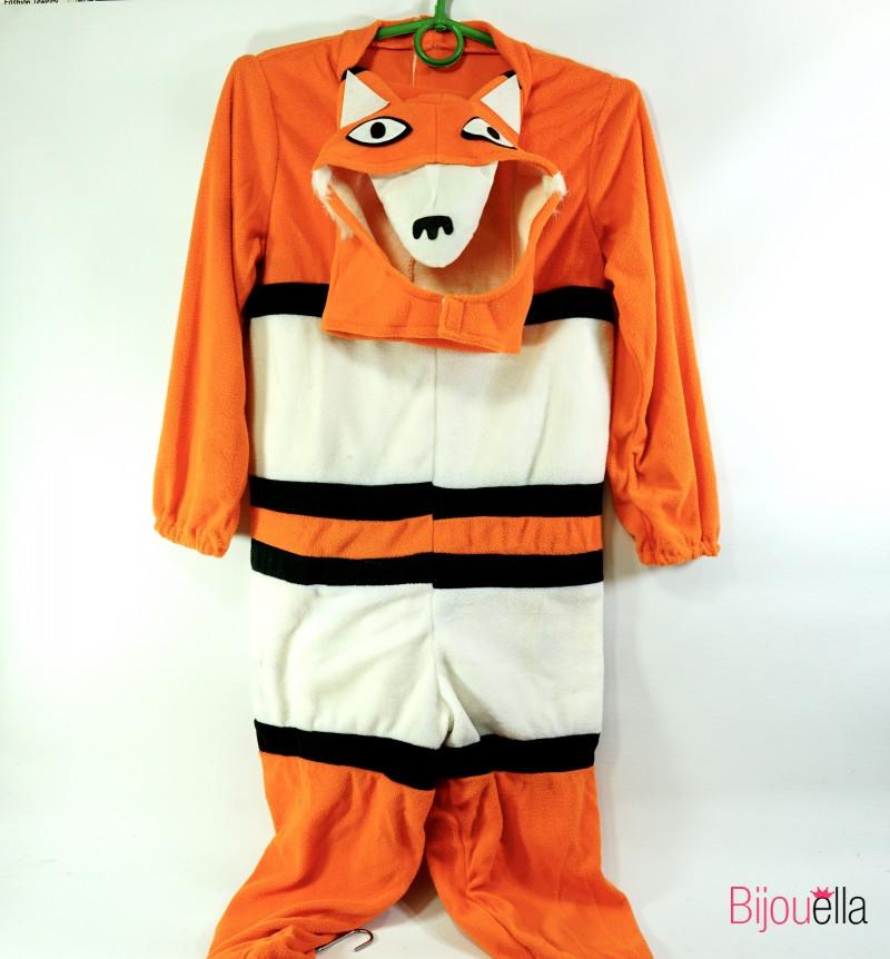 Новогодний костюм Лисы для девочки большой 134 см