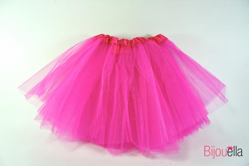 Юбка пышная Фатиног 30 см для девочки карнавальная юбка-пачка розовая