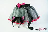 Детский карнавальный костюм Кошки для девочки костюм кошечки