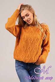 Женский шерстяной свитер (ун. 44-48) арт. К-13-162