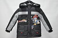 Куртка черная 6 лет (М)