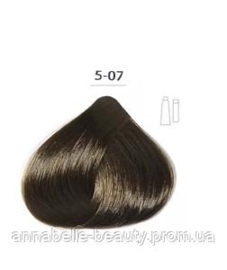 Стойкая крем-краска DUCASTEL Subtil Creme 5-07 шатен натурально-коричневый, 60 мл