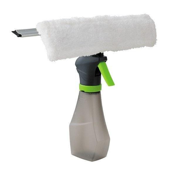 Универсальная щётка для мытья окон с распылителем Easy Glass 3 in 1 Spray Window Cleaner