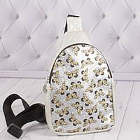 """Детская сумочка бананка """"Бабочка"""", сумка через плечо для девочек, фото 1"""
