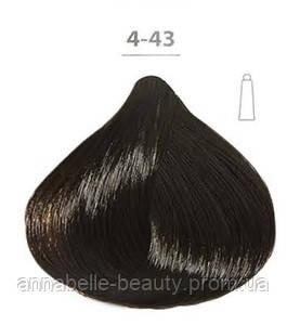 Стойкая крем-краска DUCASTEL Subtil Creme 4-43 -шатен медно-золотистый, 60 мл