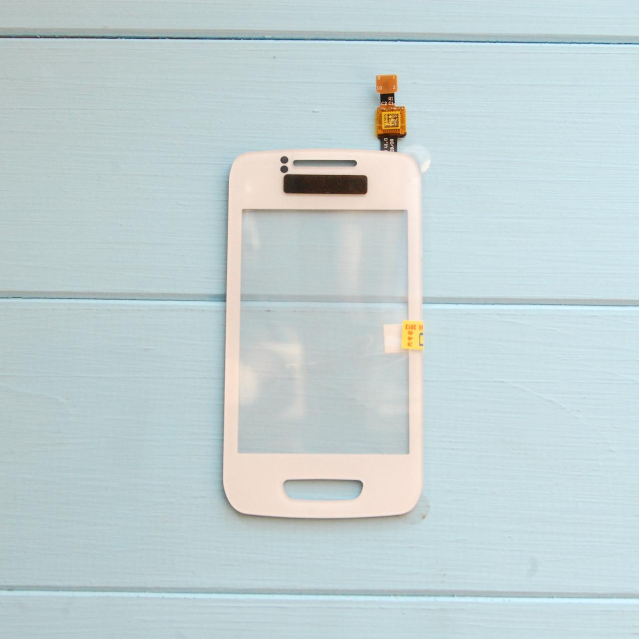 Сенсорный экран для Samsung S5380 Wave Y white