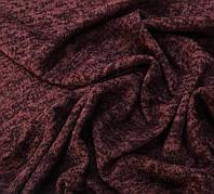 Ткань ангора-софт однотонная марсала, фото 1
