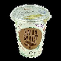 Каша ІЛНА Булгур з грибами і овочами 60 гр, ящ/10шт, фото 1