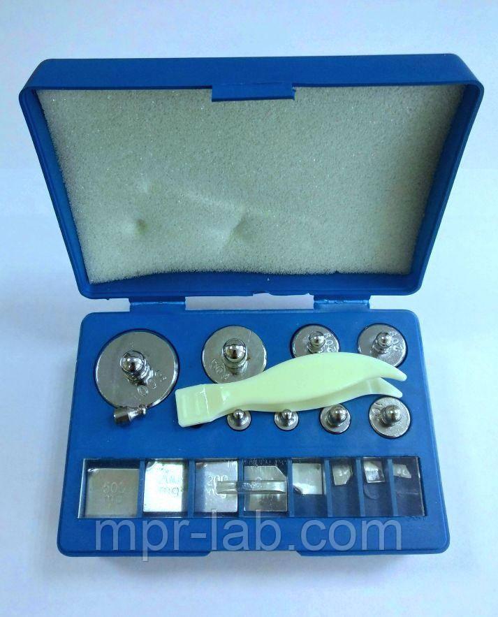 Гири калибровочные (набор класс точности М2) (10мг - 100г)