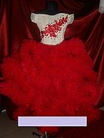 """Детское нарядное платье  """"ОБЛАКО"""" для девочки 5-8 лет"""