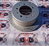 Диск тормозной задний R1 CONCEPTS CARBON GEOMET Toyota LC100 / LX470 330/18/103/110