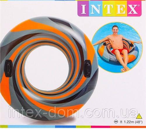 """Надувной круг """"Вихревая труба"""" Intex 56277"""