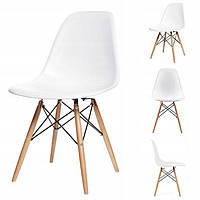 Набор из 4 стульев для кухни и бара DC-409 белый (9050-4)