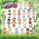 Игровой набор Приключения животных 2 фигурки: Tilley и куколка-сюрприз в стручке. QРeas QР003-4, фото 2