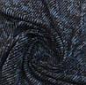 Ткань трикотажная ангора полоса джинсовая