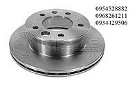Тормозной диск задний (258х12мм) Mersedes Sprinter 208-416 1995-2006MEYLE (Германия)  0155232035