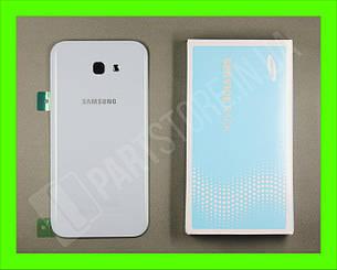Cервисная оригинальная задняя Крышка Samsung A720 Blue A7 2017 (GH82-13679C), фото 2