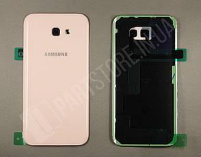 Cервисная оригинальная задняя Крышка Samsung A720 Pink A7 2017 (GH82-13679D), фото 2