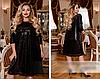 Сукня жіноча вишита пайеткой, з 50-64 розмір