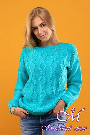 Жіночий вовняний светр (ун. 44-48) арт. К-13-162, фото 2