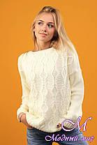 Женский шерстяной свитер (ун. 44-48) арт. К-13-162, фото 3
