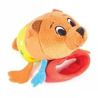 Іграшка брязкальце на ручку Happy Snail Ведмедик Берні (14HSB01BE)