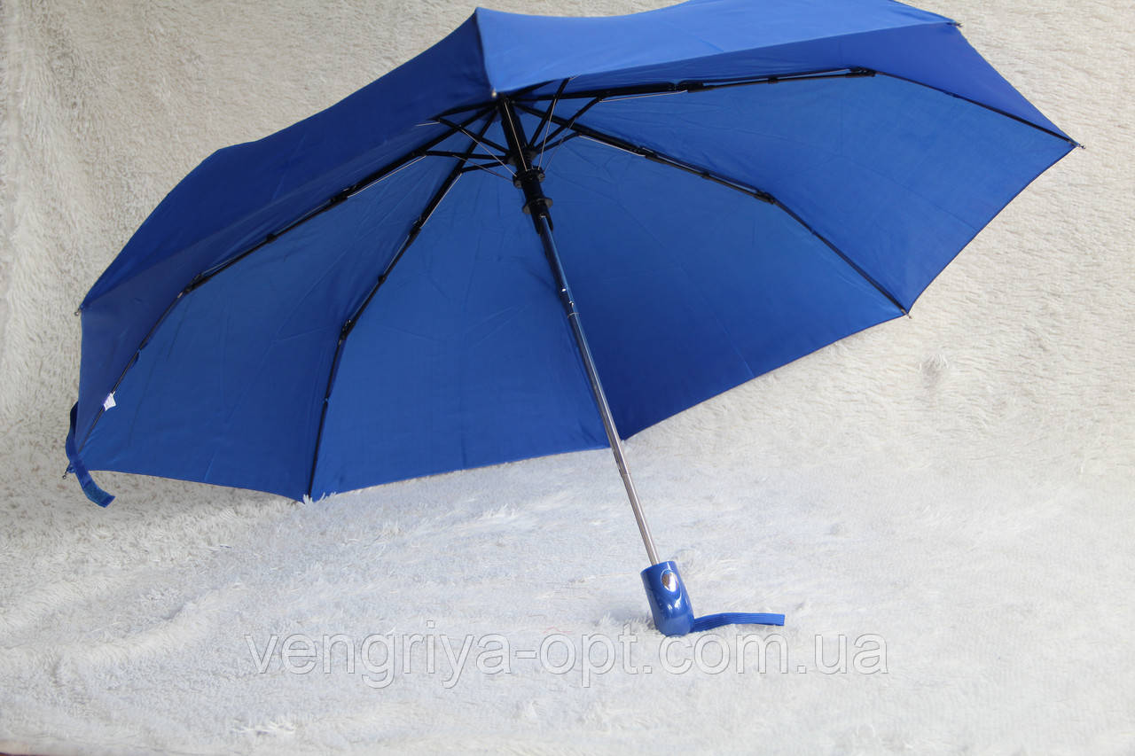Зонты Feeling Rain пол.авт. синезуб