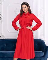 Платье с бантом в расцветках 41181, фото 1